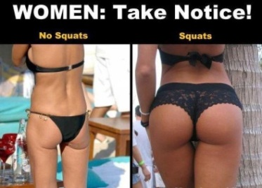 squats vs no squats