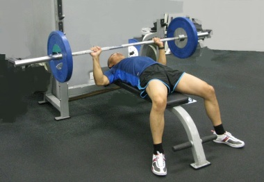 bench press senior athlete