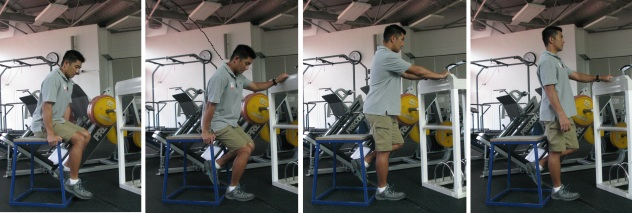 Amp aided squat
