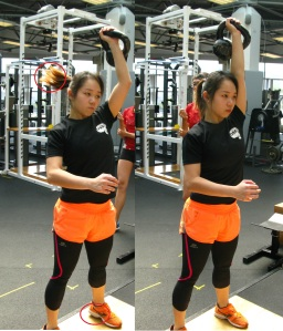 1 Arm KB Jerk used during preparation for the Asian Karate-do Championship 2015